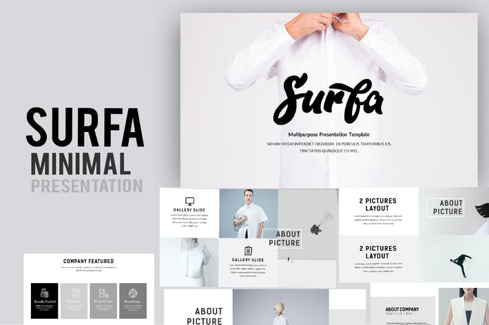 Thumbnail for Surfa Minimal Powerpoint