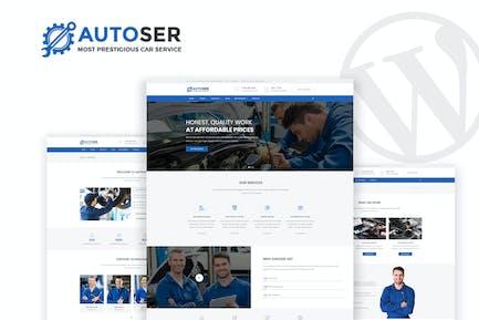 Autoser - Ремонт автомобилей и автосервис WP Тема