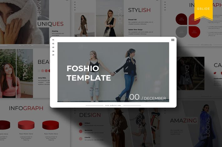 Cover Image For Foshio | Google Slides Template