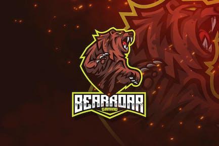 Bear Roar Logo Template