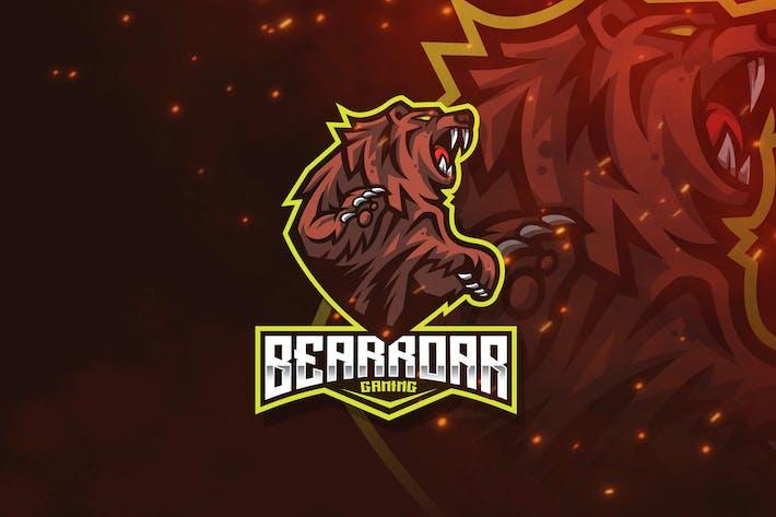 Thumbnail for Bear Roar Logo Template