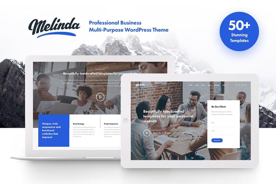 Melinda - Multi-Purpose WordPress Theme