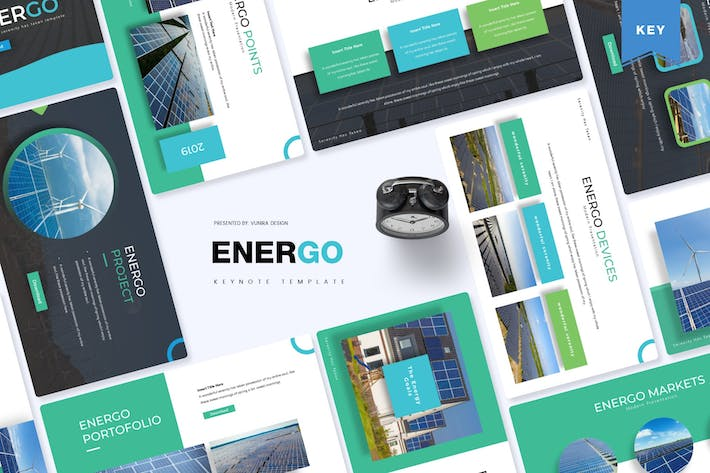 Thumbnail for Energo | Keynote Template