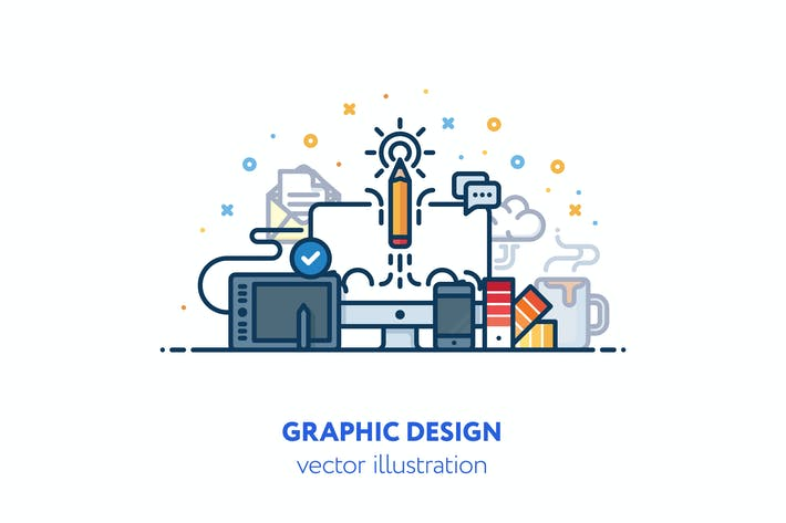 Thumbnail for Graphic design illustration
