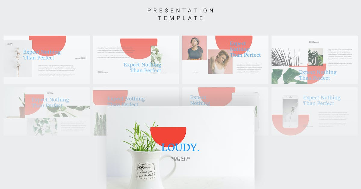 Download Loudy - Keynote Template by amsupply