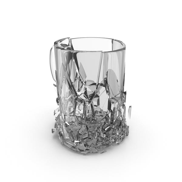 Broken Mug Glass
