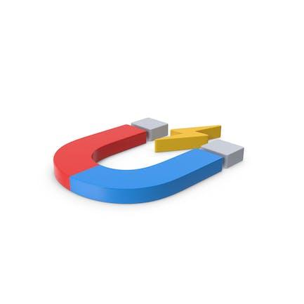 Colored Symbol Magnet