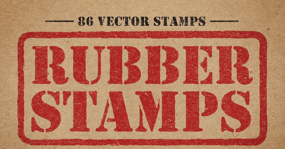 Download Rubber Stamps Vector Pack Volume 2 by DesignPanoply