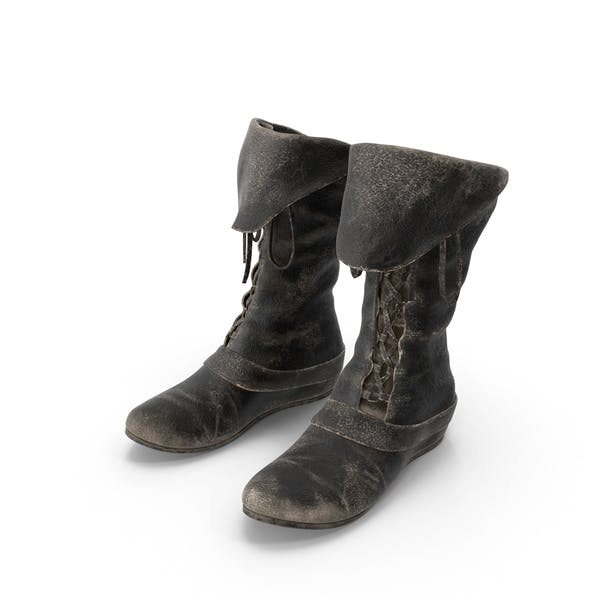 Thumbnail for Leather Boots