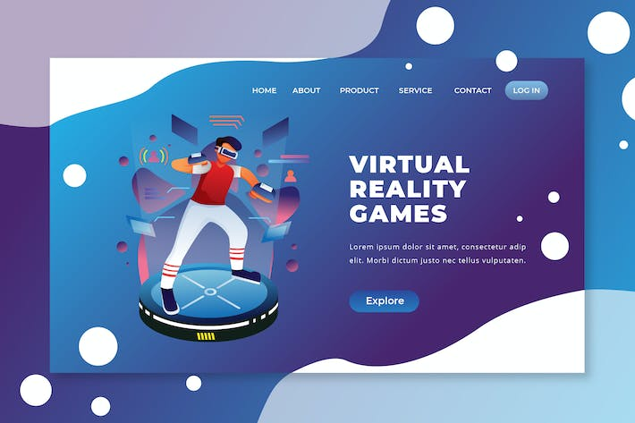 Thumbnail for Virtual Reality Games - PSD and AI Landing Page