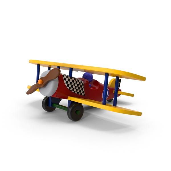 Cover Image for Wooden Airplane