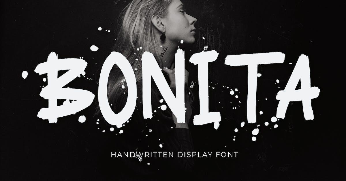 Download Bonita Handwritten Display Font by Formatika
