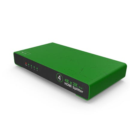 HDMI Splitter Green Used