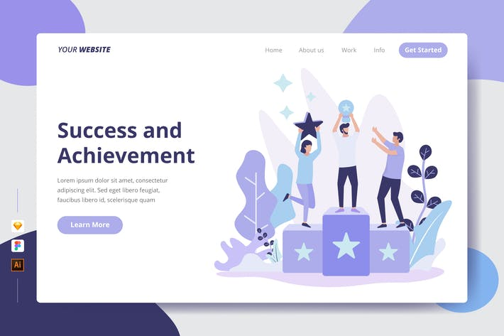 Thumbnail for Success and Achievement - Landing Page