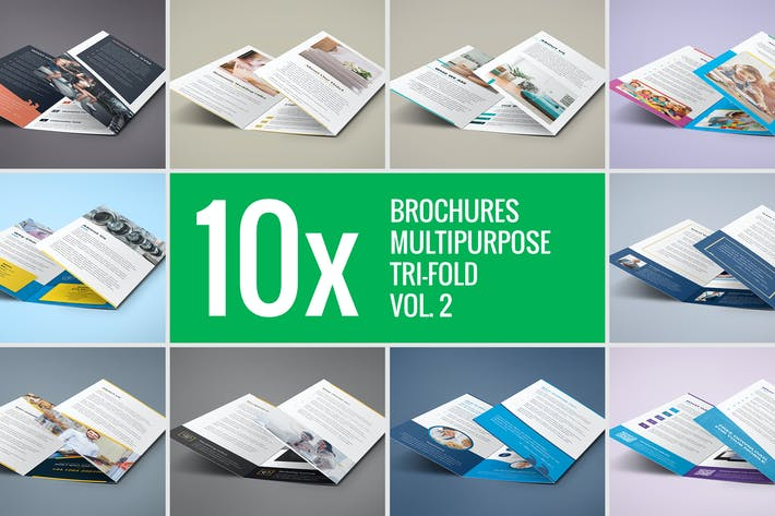 Thumbnail for Brochures – Multipurpose Tri-Fold Bundle vol. 2