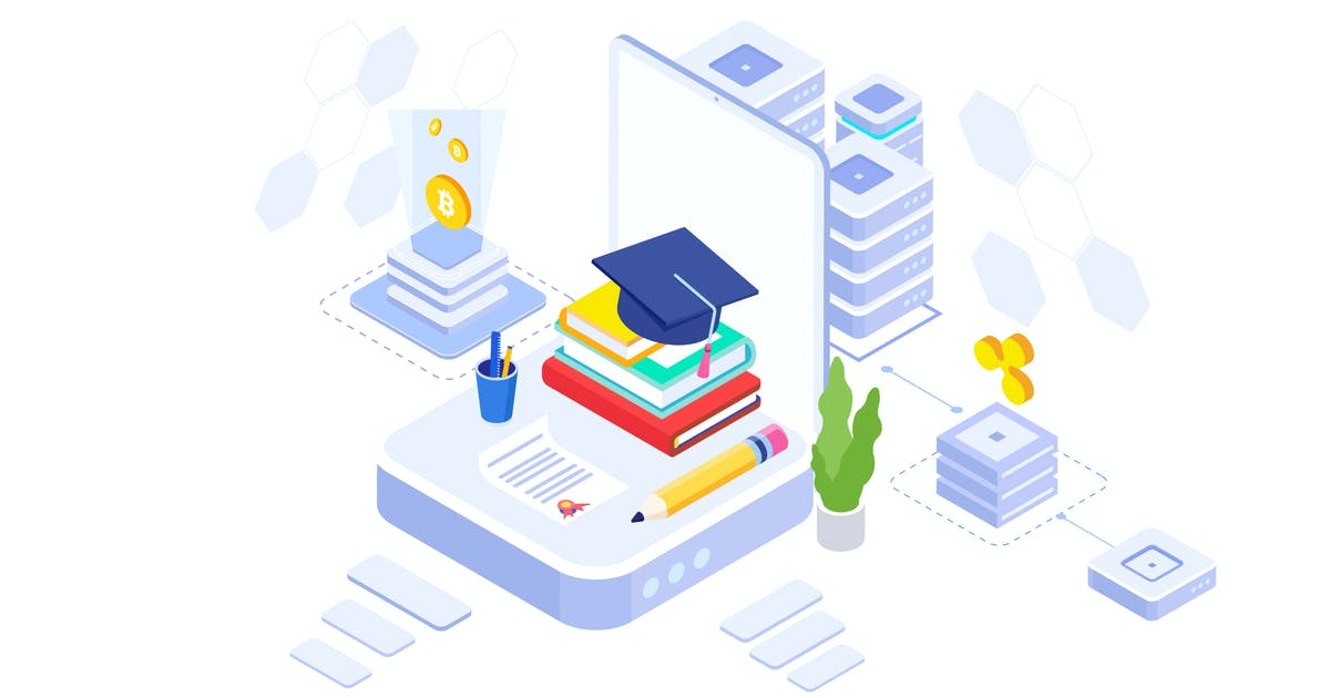 Download Fund Higher Education Isometric Illustration - FV by angelbi88