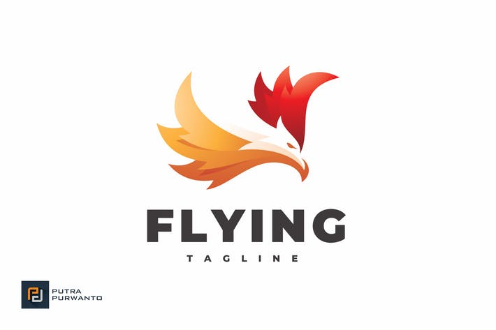 Thumbnail for Flying - Logo Template