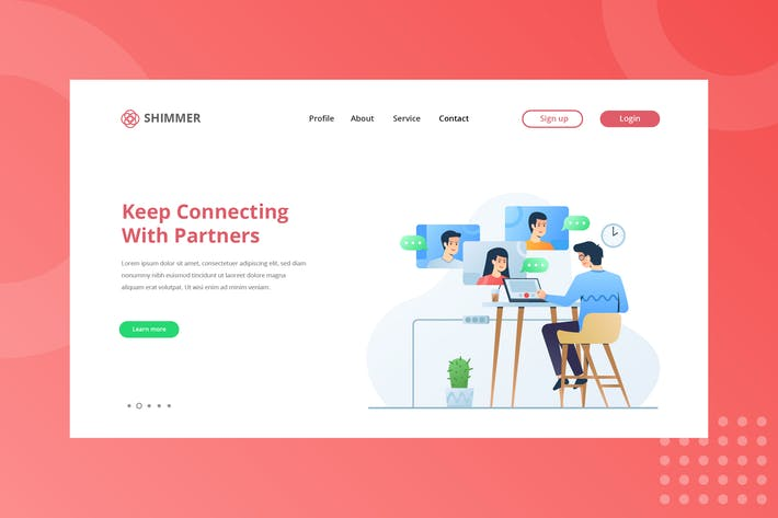 Thumbnail for Connections With Partner Landing Page