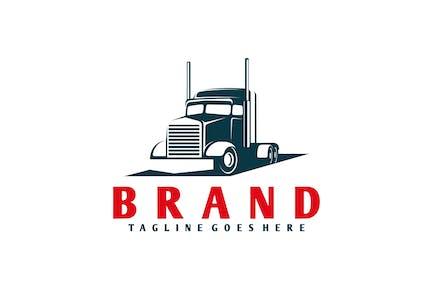 Logistic & Transport Trucking Logo