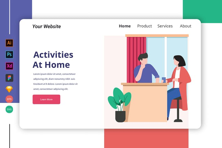 Thumbnail for Activities at Home Landing Page