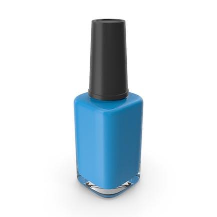 Polish Fingernail Blue