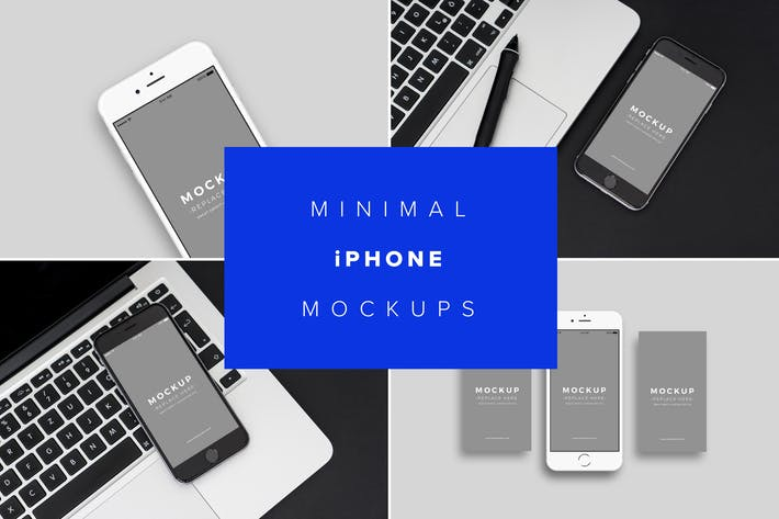 Thumbnail for iPhone Mockups Minimal Version