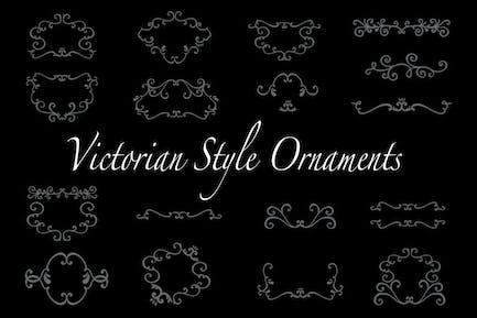 Adornos de estilo victoriano