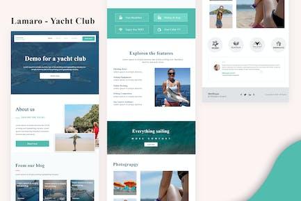 Lamaro - Yacht Club E-Mail Newsletter