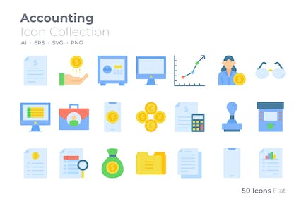 Accounting Color Icon