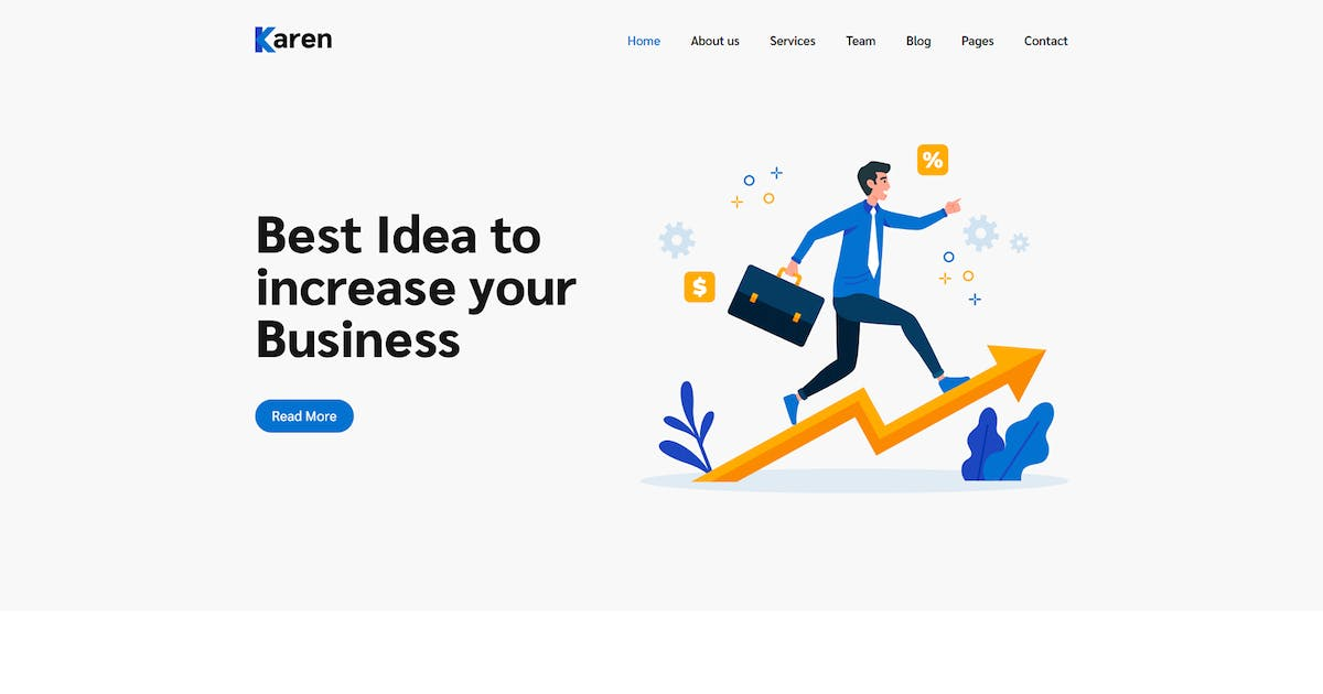 Download Karen – Corporate Business Bootstrap 4 Template by codecarnival