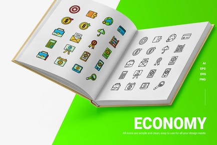 Economía - Íconos