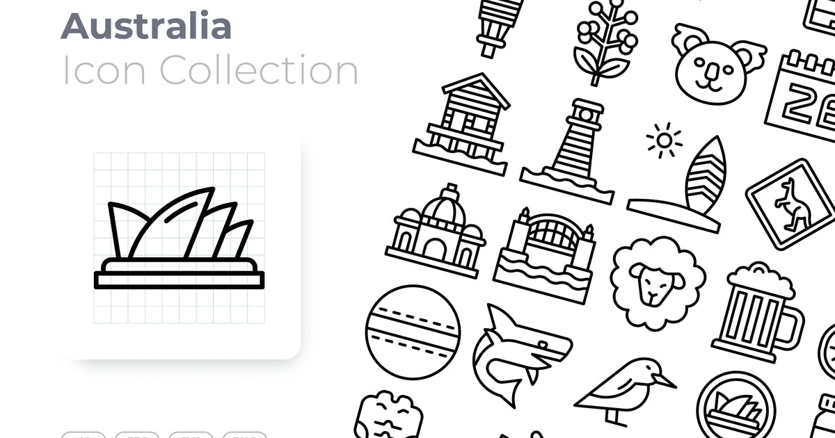 Download Australia Outline Icon by GoodWare_Std