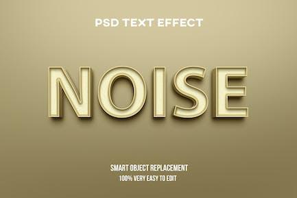 Cream pastel realistic text effect