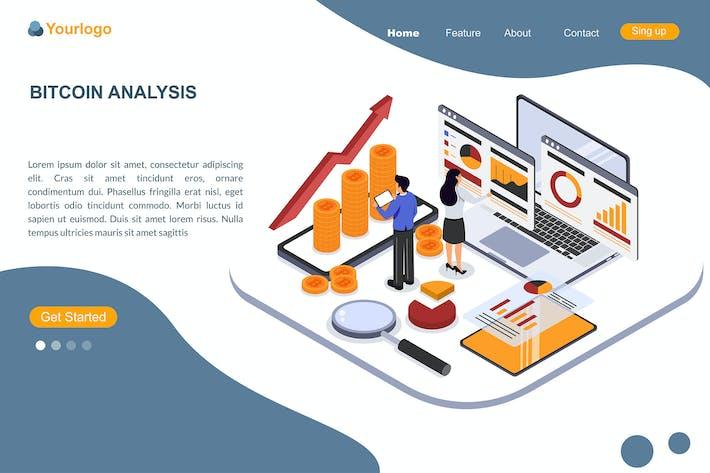 Bitcoin Analysis - Landing Page