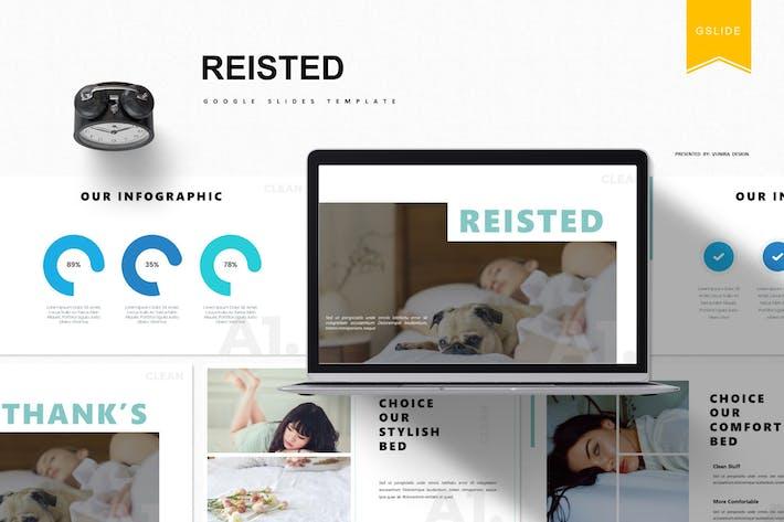 Thumbnail for Raisted | Google Slides Template