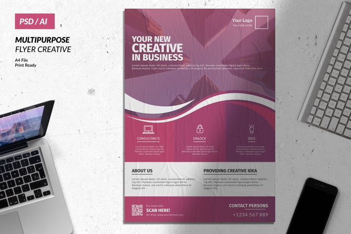 Thumbnail for Creative Business Flyer Vol. 11