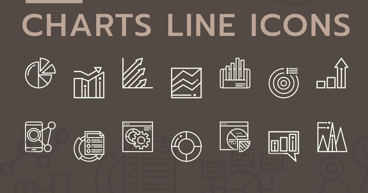 Download Business Chart Line Icons by Unknow