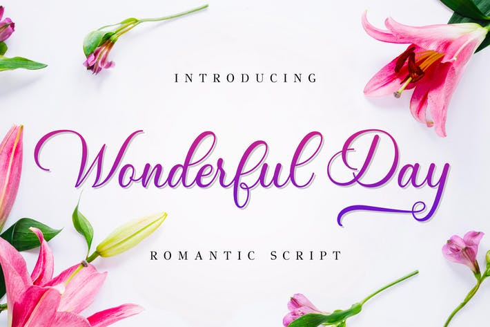 Thumbnail for Wonderful Day - Romantic Script