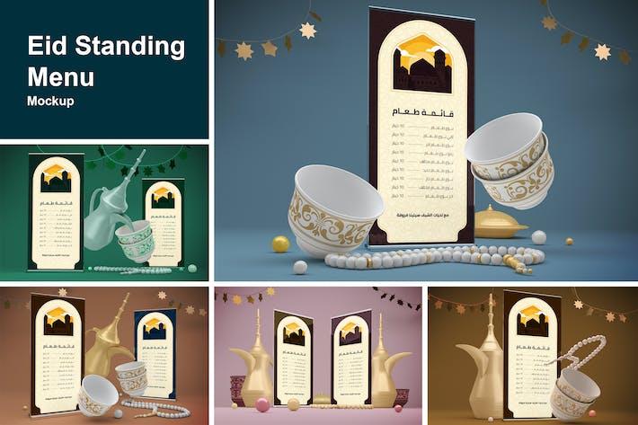 Eid Standing Menu