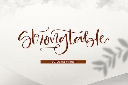 Strong table