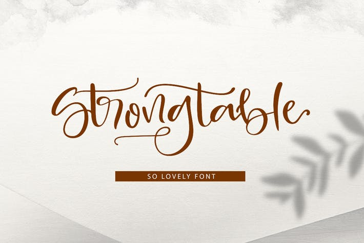 Thumbnail for Strong table