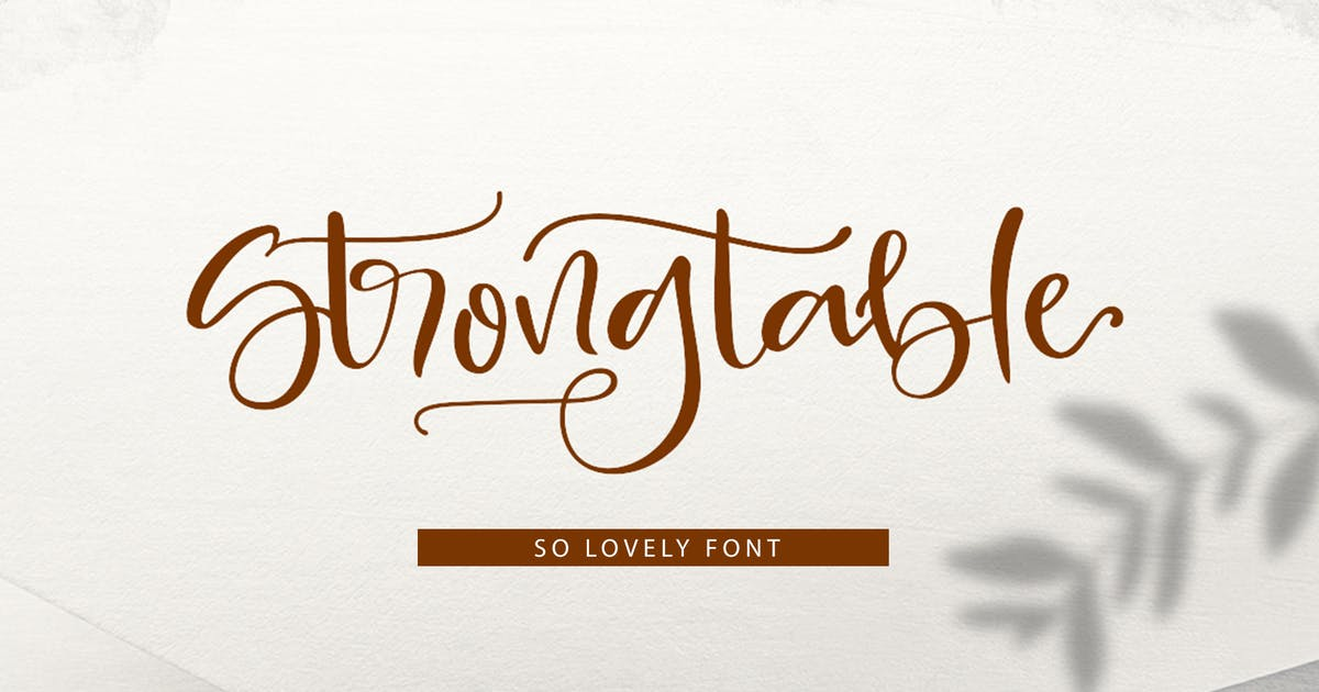 Download Strong table by Areatype