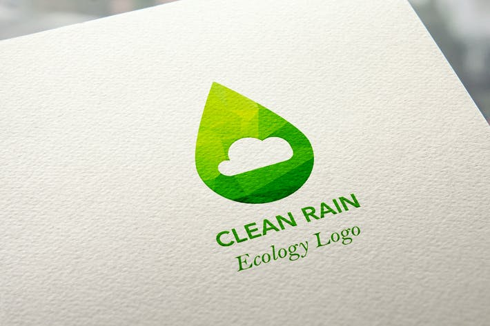 Thumbnail for Ecology Clean Rain Logo