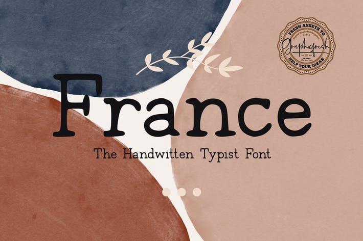 Thumbnail for France Typeface Font