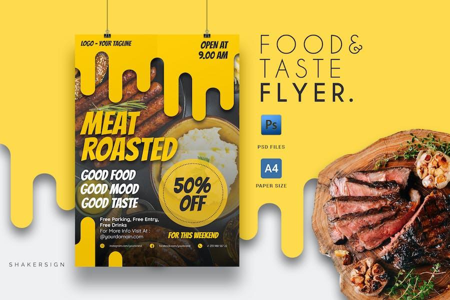Food & Taste - Flyer Template