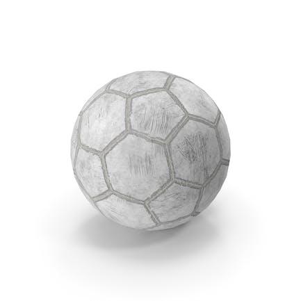 Balón de fútbol antiguo