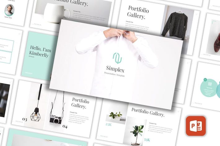 Thumbnail for Simplex - Lookbook Powerpoint Template