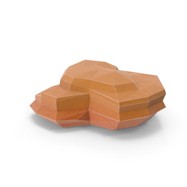 Thumbnail for Low Poly Desert Rock