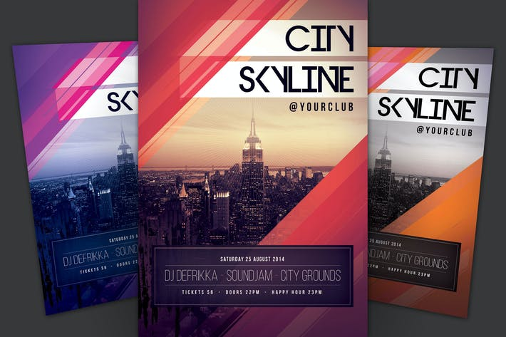 Cover Image For City Skyline Flyer