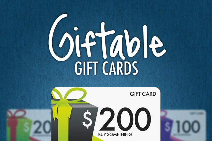 Thumbnail for Giftable Gift Cards